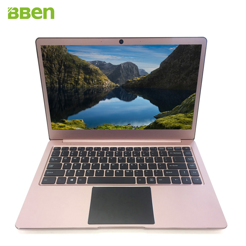 Ordinateur portable Bben14.1inch Ultrabook Intel Apollo Lake N3450 4 GB/64 GB avec fente SSD M.2, pré-installation en métal FHD windows10 - 2