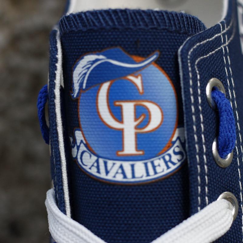 Logotipo Casual Meninos De Personalizar Zapatos A Outono Quality Do Shoes Impressão Lona Mujer Lace Da Sapatos Homens Walking Estudantes dv174l Primavera Top T Equipe up 4q6xtUt