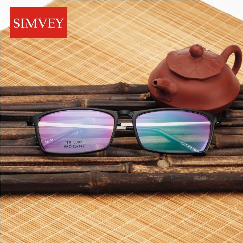 31bf85f707 Simvey Korean Retro Designer Nerd Glasses Frames Clear Fashion Square  Glasses Eye Glasses Frames for Men TR90-in Eyewear Frames from Apparel  Accessories on ...