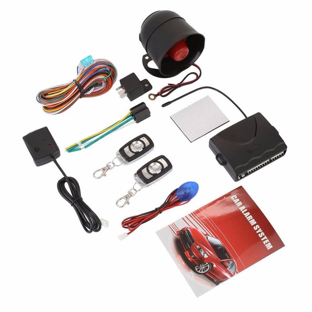 Vehemo système d'alarme de voiture universel Kit Central à distance automatique serrure de porte système d'entrée sans clé verrouillage Central avec télécommande