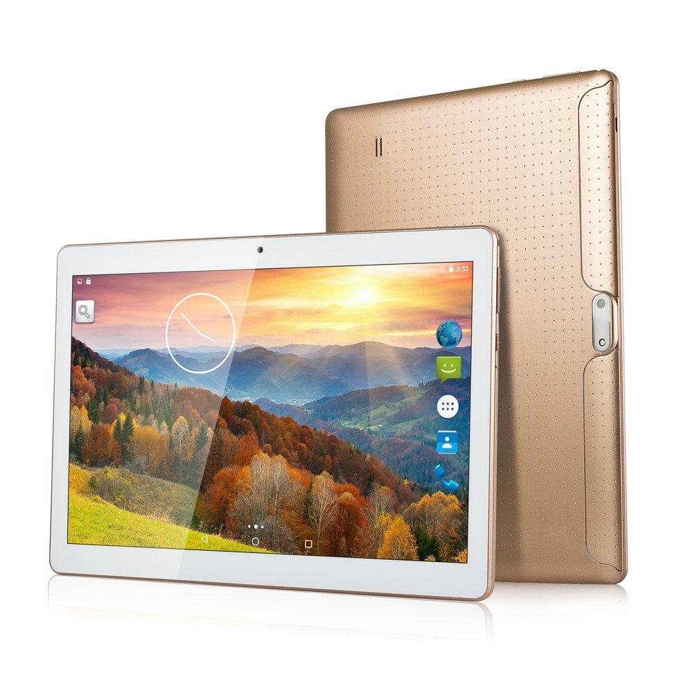 ZONNYOU 3G 4G LTE tablette PC 10 pouces Quad Core verre trempé tablette Android 7 2 GB RAM 32 GB ROM double SIM WIFI Bluetooth GPS tablettes