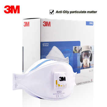 3M 9322 9332 Dust Mask Particulate Respirator Safety Breathing Masks Anti-fog PM2.5 Dust-proof Protective Mask FFP2 FFP3 Level - DISCOUNT ITEM  43% OFF All Category