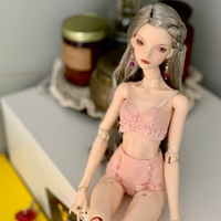 Freedom teller 1/4 Sybil BJD SD Doll 44cm Girl Slender Body Free Eye Balls Fashion Shop Lillycat
