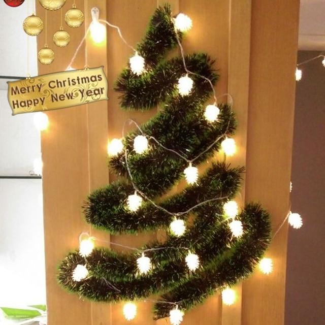 Weihnachtsbeleuchtung Tannenzapfen.Us 13 11 Wasserdichte Outdoor Led Leuchten String Tannenzapfen Kronleuchter Hof Weihnachtsbeleuchtung Außenbeleuchtung Balkon In Wasserdichte