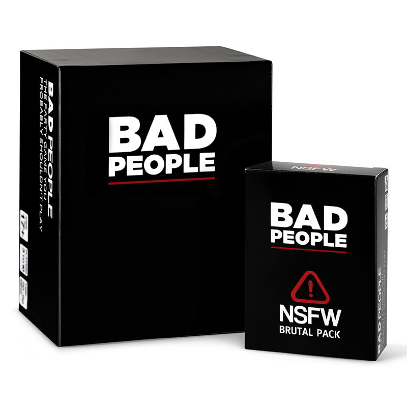 Bad People The Basic And Extended Versions Game The  Intellectual Development Educational Toy Family Funny Entertainment Cards