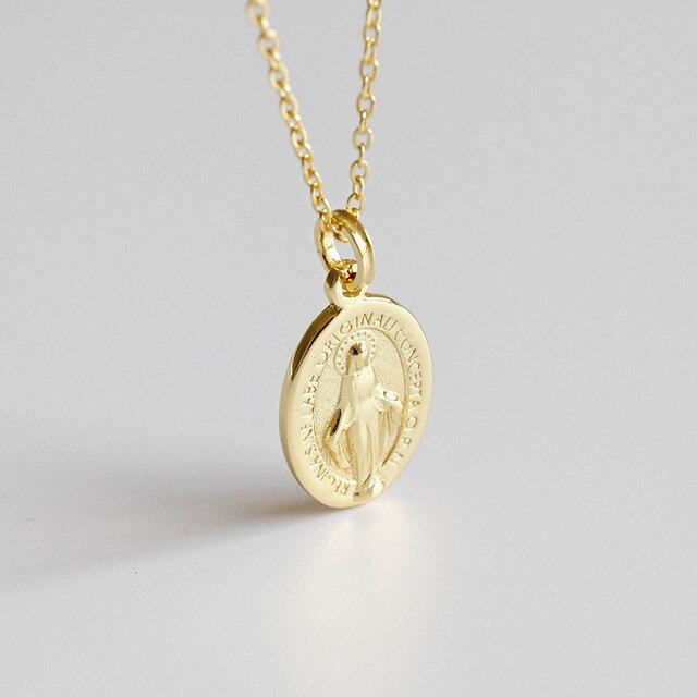 Фото женское ожерелье и кулон flyleaf с золотистыми бусинами девы цена