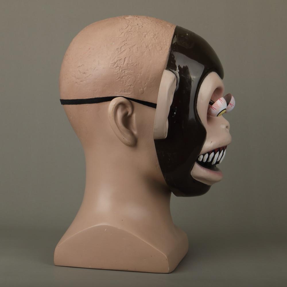 Animal Masks Animal Themed Costumes Monkey Orangutan Mask Cosplay Prop Halloween Accessories Men Women Face Mask Full Head (13)