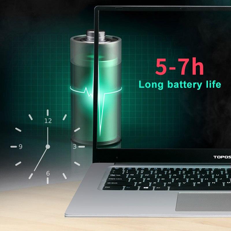 מחשב נייד P2-06 6G RAM 512G SSD Intel Celeron J3455 מקלדת מחשב נייד מחשב נייד גיימינג ו OS שפה זמינה עבור לבחור (4)