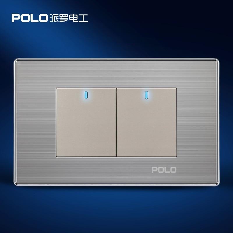 Home Automation, POLO Luxury ( ^ ^)? Panel, Panel, US/AU standard, LED indicator, Wall ? switch ...