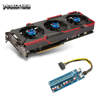 Yeston GeForce GTX 1080 Graphics Cards GPU 8GB GDDR5 256 Bit Graphics Cards Fan PCI E