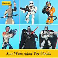 Decool 9017Star Wars Submachine Commander Series Classic Children S Toys Compatible With Lepin Star Wars Children