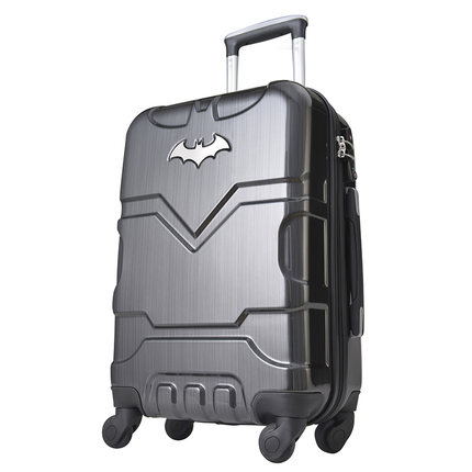 20 24 inch Batman ABS Luggage boarding password hard box rolling trolley Suitcase for hero fans