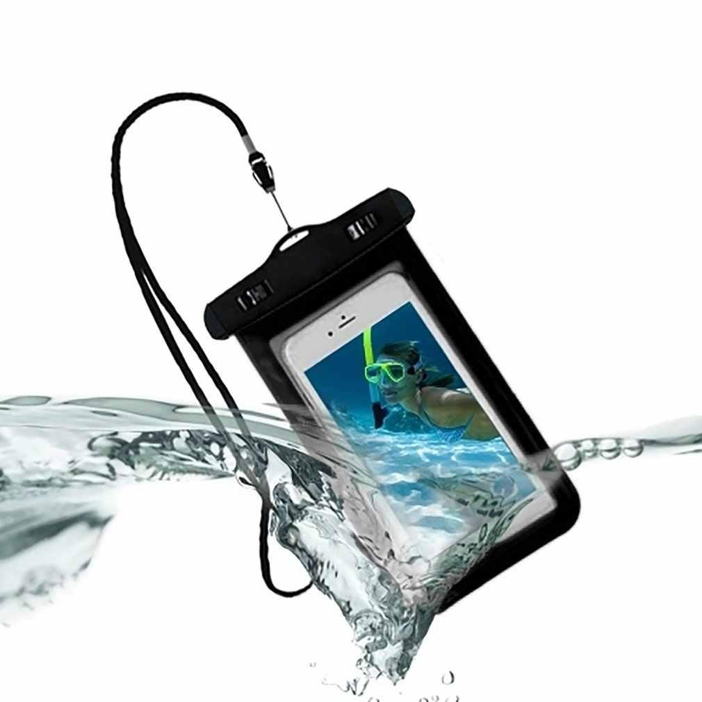 Водонепроницаемый чехол для телефона с сенсорным экраном для мобильного телефона, сухая сумка для дайвинга, чехол с шейным ремешком для iPhone для Xiaomi для samsung