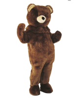 2018 New Brown Bear Mascot Mascot Costumes Christmas Halloween Outfit Fancy Suit Free Shipping