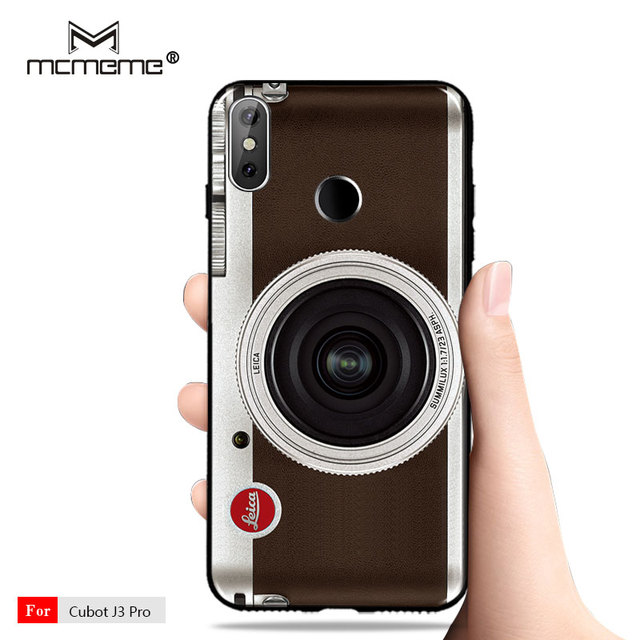 quality design 89009 dba72 US $1.28 |For Cubot J3 Pro Case Cubot J3 Cover Silicone TPU Back Cove Retro  Camera Cassette Tapes printing Coque For Cubot J3 Pro Case -in Fitted ...