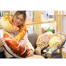 3D Fish Pizza Food Snack Shaped Plush Bed 20cm Pillow Cushion Home Decor Party Gift for kids girls boys(China)