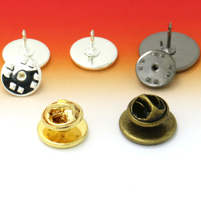 10sets Brooch Base Holder Brooch Pin Badge Holder For Diy Jewelry Making Finding 12mm Cabochon Base