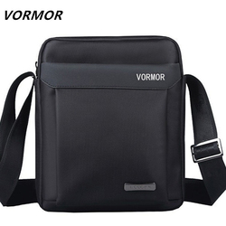 VORMOR Men bag 2018 fashion mens shoulder bags, high quality oxford casual messenger bag business men's travel bags