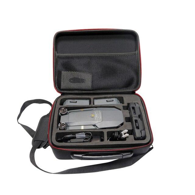 TELESIN Portable Carry Case Suitcase, Storage Bag Travel Case Shoulder Bag for DJI Mavic Pro Foldable Drone Mavic Accessory