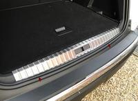 Car Inner Rear Bumper Plate Cover Trim For Peugeot 3008 GT 2016 2017