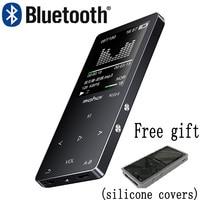 Mahdi M320 Metal Sport Mini MP3 Player bluetooth Portable Audio 4G/8G/16G with Built in Speaker FM Radio APE Flac Music Player