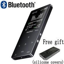 Mahdi M320 Metall Sport Mini MP3 Player bluetooth Tragbare Audio 4G/8G/16G mit Gebaut in Lautsprecher FM Radio APE Flac Musik Player