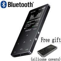 Mahdi M320 di Sport Del Metallo Mini MP3 Lettore Audio Portatile Bluetooth 4G/8G/16G con Built-in speaker Radio Fm Ape Flac Music Player