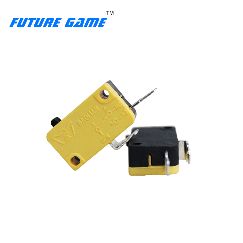 Shop For Cheap Good Quality 2 Feet Copper-silver Contact Micro Switch Appliable To Arcade Large Game Console With Light Button Micro Switch,etc Exquisite Craftsmanship; Consumer Electronics Video Games