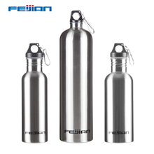 Feijian Sport Stainless Steel Water Bottle Large capacity Portable Wide Mouth Outdoor