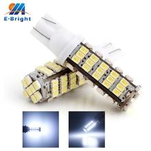 цены 300 PCS T10 68LED 1206 68 SMD LED Car T10 68smd 1206/3020 W5W 194 927 161 Side Wedge Light Lamp Bulb for License plate lights