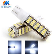 300 PCS T10 68LED 1206 68 SMD LED Car T10 68smd 1206/3020 W5W 194 927 161 Side Wedge Light Lamp Bulb for License plate lights цена