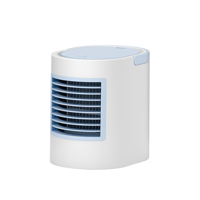 Mini Climatiseur Froid Ventilateur USB Refroidisseur D'air Purification De L'air Miniature Eau De Refroidissement Rapide De Refroidissement Portable De Bureau Muet