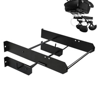 Motorcycle Black Tour Pak Pack Accessory Motor Storage Rack For Harley Touring Road King Street Glide Wall Mount