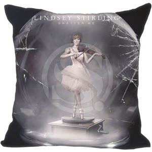 Pillow-Case Zipper-35x35cm Custom Me One-Side Lindsey Stirling-Style F922 Shatter New-Arrival