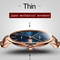 Часы JSDUN Business Tourbillon Мужские  золотые  топовые  Роскошные  механические  водонепроницаемые  наручные  автоматические наручные часы