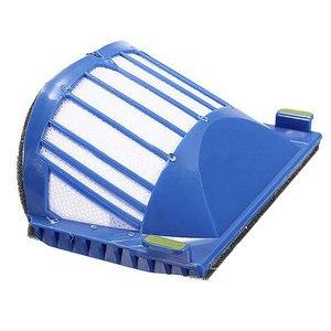 Image 3 - 2 כחול סנן aerovac + 2 set ערכת מברשת ראשי + 4 צד מברשת עבור irobot roomba 600 series 52708 529 552 564 595 620 630 650 660