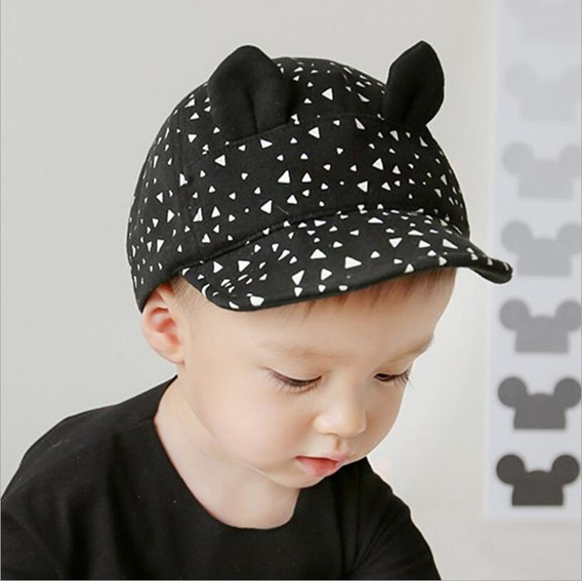 355b471359df3 2017 Adjustable Cap Baby Factory Direct Sales Of Spring And Summer Fashion Navy  Cap Flat Hat Baby For Peaked 650004
