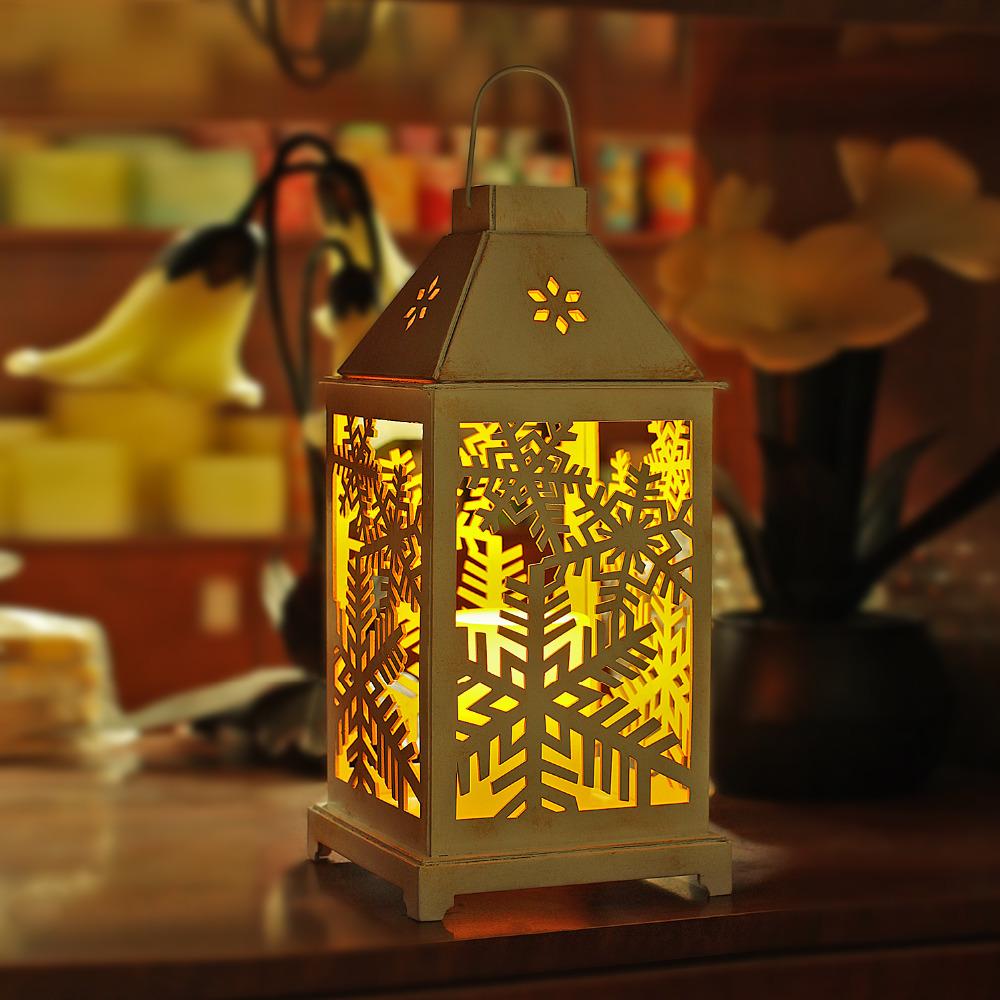 Christmas Lantern.Giveu Christmas Lantern Battery Led Candles With Timer