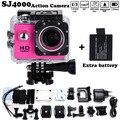"""Adicionar 2 x bateria filmadora mini go hero pro estilo 1080 p Full HD DVR SJ4000 Câmera de Ação À Prova D' Água 1.5 """"Tela LCD Frete grátis"""