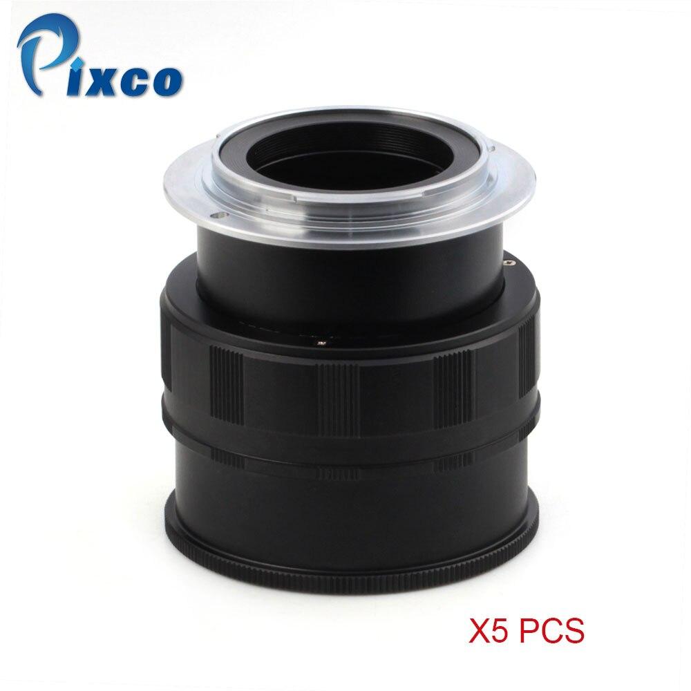 Pixco 5 pièces pour M42-NEX réglable Macro à l'infini objectif adaptateur costume pour M42 objectif pour Sony E monture NEX caméra, adaptateur anneau