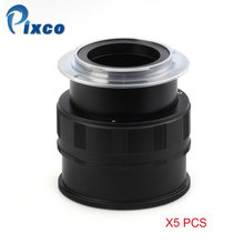 Pixco 5Pcs for M42-NEX Adjustable Macro to Infinity Lens Adapter Suit For M42 Lens to for Sony E Mount NEX Camera