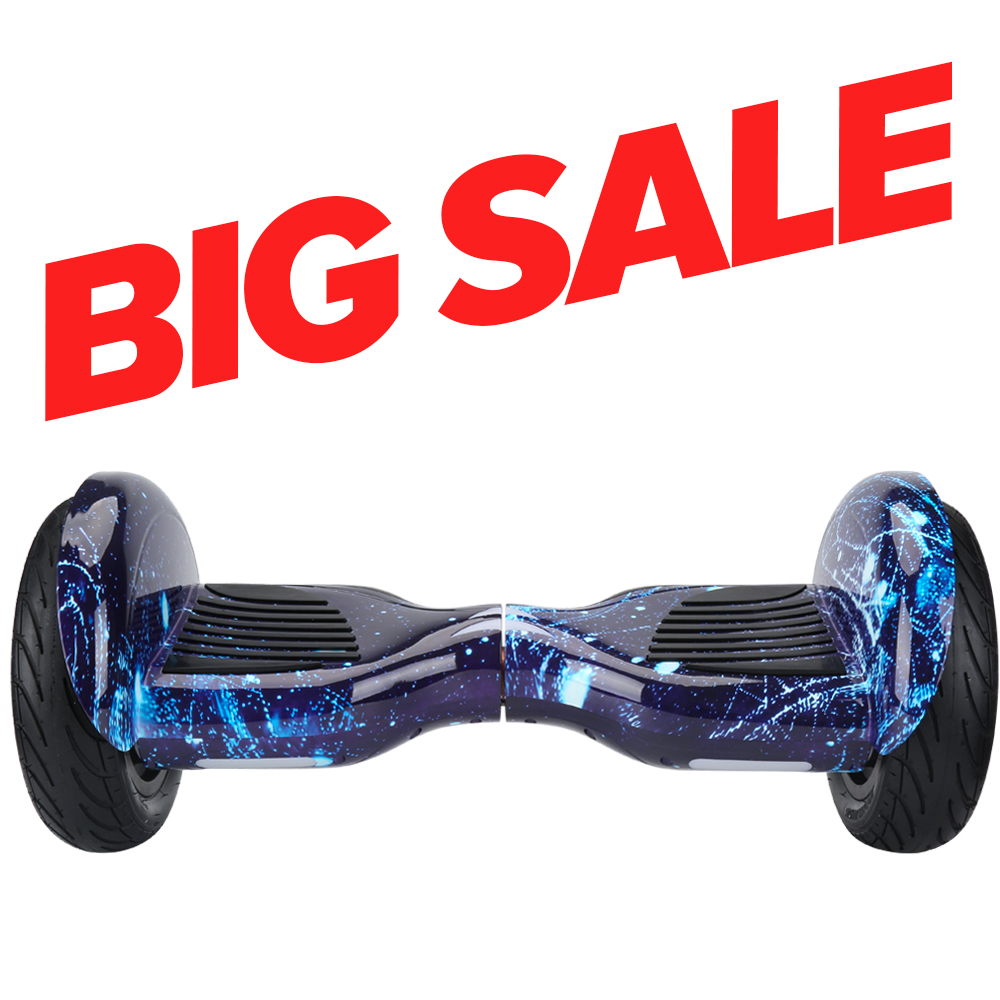 Grande vente iScooter 10 pouces Hoverboard deux roues Hover-board