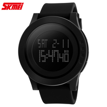 SKMEI 1142 Automatique étanche montre numérique Hommes Montre De silicone de Mode top qualité mens célèbre armée de luxe montre-bracelet militaire