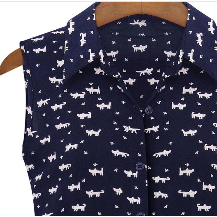 Tfg 2017 nuevo diseño de verano de las nuevas mujeres camisetas dress cat huella