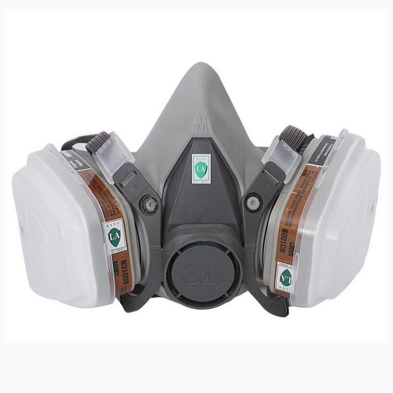 หน้ากากป้องกันแก๊ส In 6200 สเปรย์ตกค้างสารเคมีอุตสาหกรรม 1 9 3m