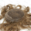 Hair  Man Toupee Right Style Blond Short Lengths 8.25x6.25 Buy Brazilianhair Stock H060