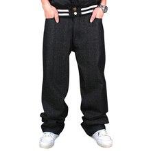 American brand discount 30-44 loose pants baggy jeans for men jeans men hiphop rapper style plus size men jeans free shippingmen
