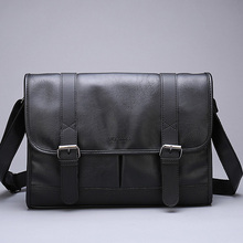 New PU Leather Crossbody Bags for Men Water Repellent Messengers Bag Business Casual Shoulder Bags u pick fashion fresh transparent water repellent cosmetic bags