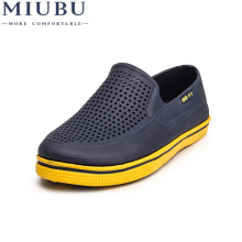 MIUBU Fashion Men Sandals 2019 Summer Beach Hollow Breathable Causal Shoes Male Water Slippers Sapatos Hembre
