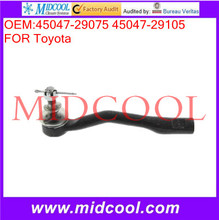 High Quality Auto Parts Front Left Steering Tie Rod End OEM:45047-29075 45047-29105
